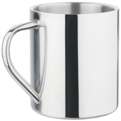 Polished Stainless Steel Mug