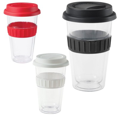 Plastic Double-walled Mug