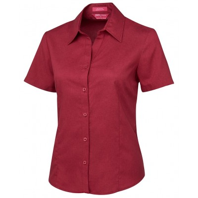 Ladies S/S Polyester Shirt