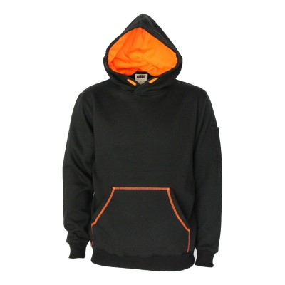 Kangaroo pocket super brushed fleece hoodie