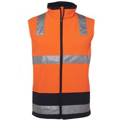 Hi Vis (D+N) Softshell Vest