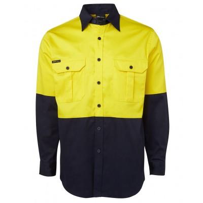 Hi Vis L/S 190G Shirt