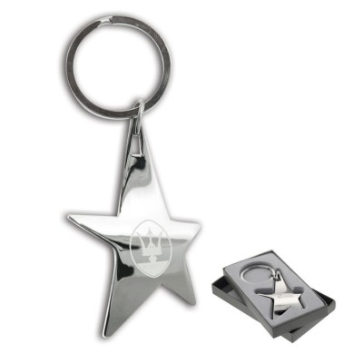 High Caliber The Silver Stella Keychain
