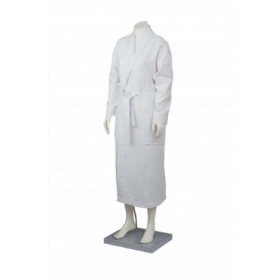 Simba Towels Waffle Bath Robe With Collar | BR126