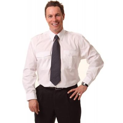Epaulette Long Sleeve