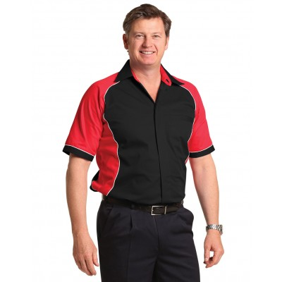 Men's Arena Tri-colour Contrast Shirt