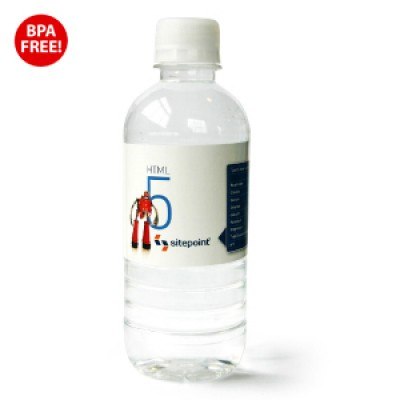 High Caliber 350ml Natural Spring Water