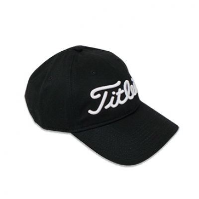 Titleist Corporate Chino Twil Cap In Black