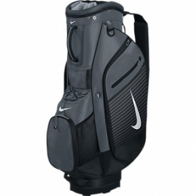 Nike Sport Cart Bag III - Dark Grey/Silver