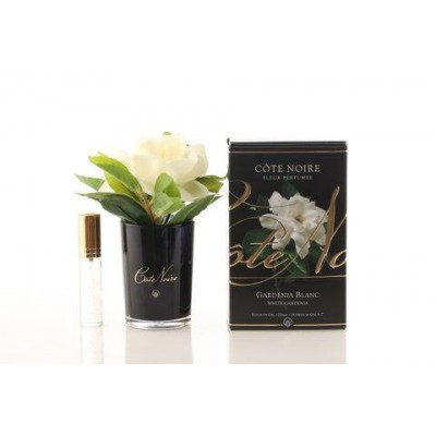 Côte Noire Perfumed Natural Touch Gardenia in Black