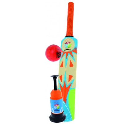 Summit Sport Cricket Bat, Launcher & Ball