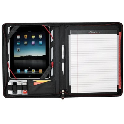 Elleven™ Large Zippered Padfolio