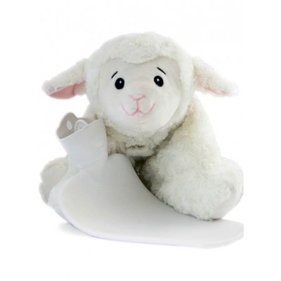 Europa Brands Hugo Frosch Hot Water Bottle Junior Comfort Sheep 1.8 L