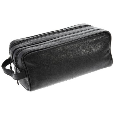 Europa Brands Sonnenschein Hanover Leather Toiletry Bag