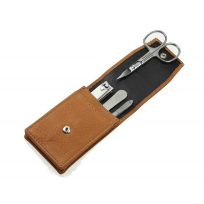 Europa Brands Hans Kniebes Classic Leather Manicure Set