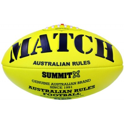 Summit Sport Fluro Embossed AFL Yellow