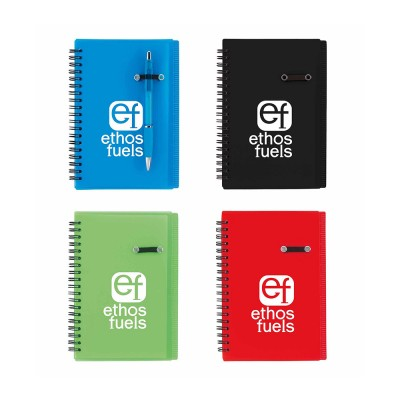 Journal Notebook With Pen Loop