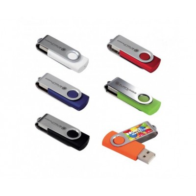 Folding USB 2.0 Flash Drive - 1GB