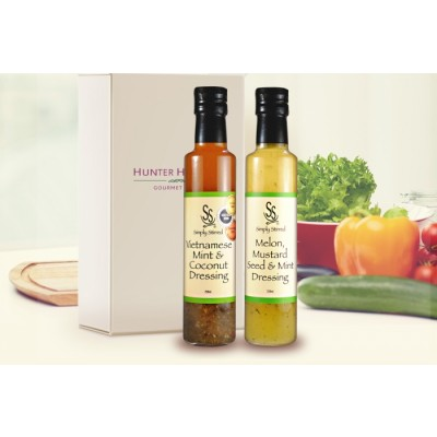 Gourmet Gift Dressed with Zest – Salad Dressing 2 Pack