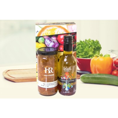 Gourmet Gift Oil and Relish Combo