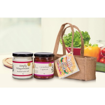 Gourmet Gift Mayo and Relish Pack