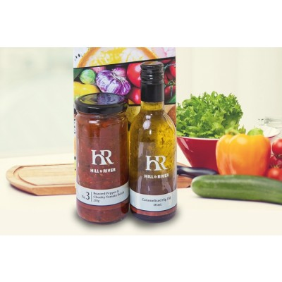 Gourmet Gift Relish and Oil Pack