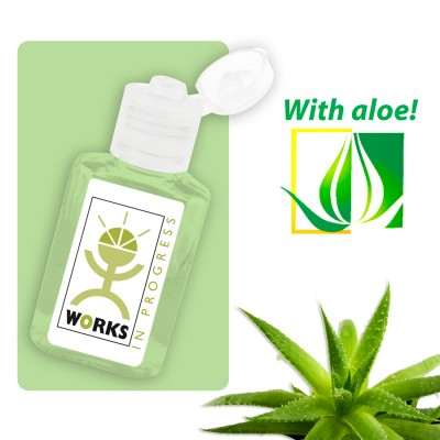 High Caliber 30ml Hand Sanitiser Gel with Aloe