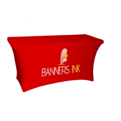 Banners INK Stretch Table Covers