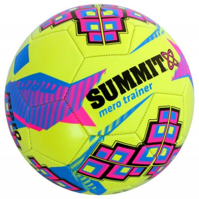 Mero Club Trainer Soccer balls Fluro Yellow or White