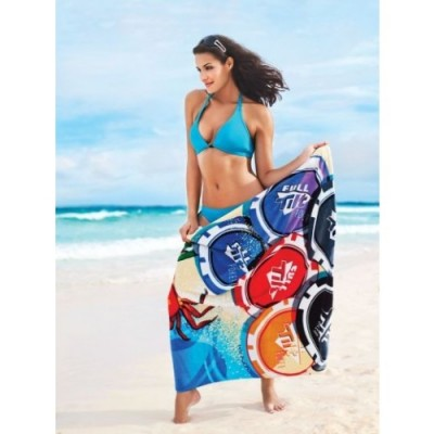 Simba Towels Indent Fibre Reactive Large Printed Beach Towel | IP109