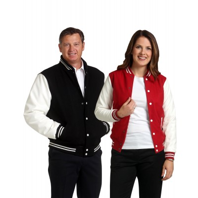 Wool Letterman Wool Blend Varsity Jacket Unisex
