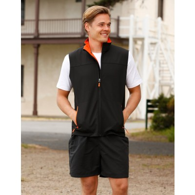 Rosewall Soft Shell Vest Men's