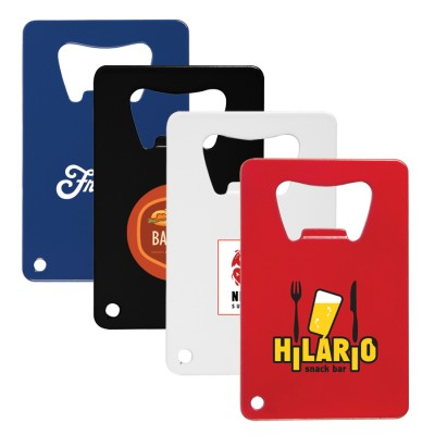 High Caliber Credit Card Bottle Opener