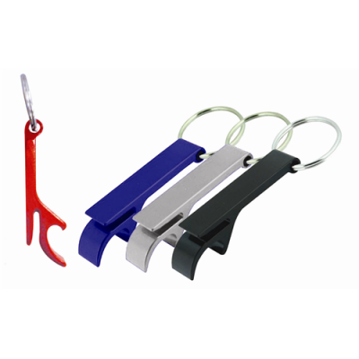 Dex Group Collection Argo Colored Bottle Opener Key Ring