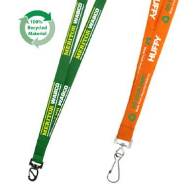 High Caliber 19mm Euro Soft Lanyard Recycled Lanyard