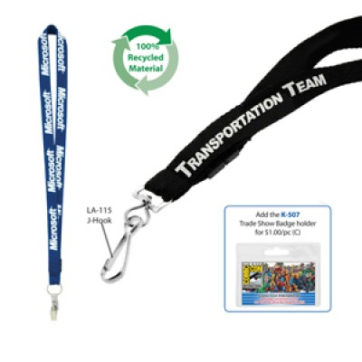 High Caliber 19mm Fast Track Recycled Lanyard