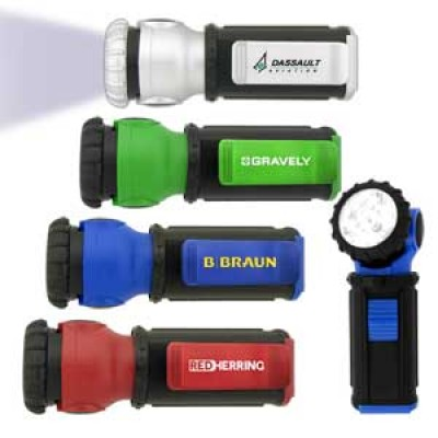 High Caliber Mini Swivel Head Flashlight