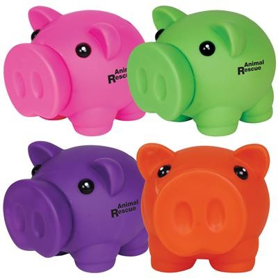 Logo Line Micro Piglet Coin Bank | LL2408