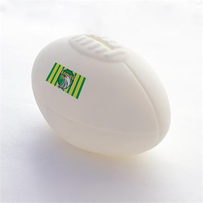 Logo Line Small Football Coin Bank | LL245