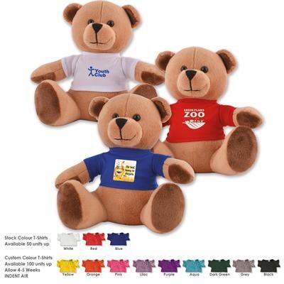 Logo Line Honey Plush Teddy Bear | LL30193