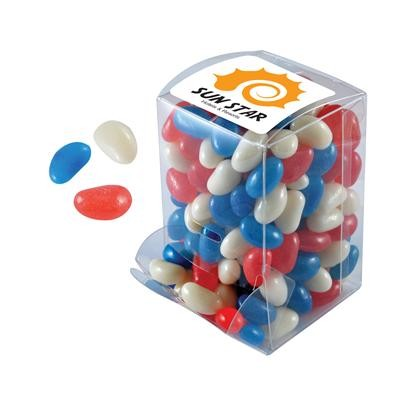 Logo Line Corporate Colour Mini Jelly Beans in Mini Confectionery Dispenser | LL3132