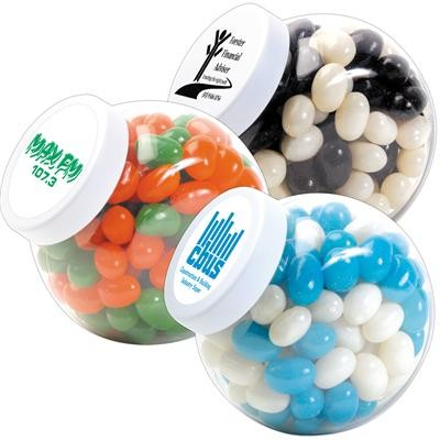 Logo Line Corporate Colour Mini Jelly Beans in Container | LL3149