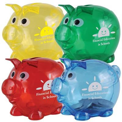 Logo Line World's Smallest Pig Coin Bank | LL3598