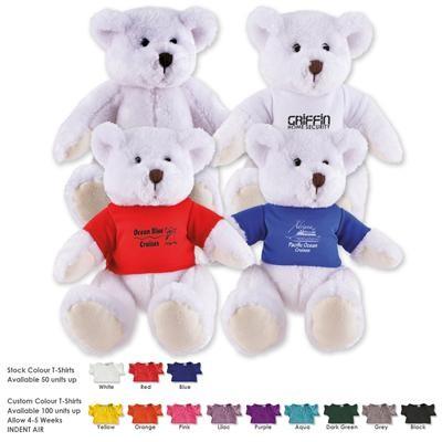 Logo Line Frosty Plush Teddy Bear | LL40883