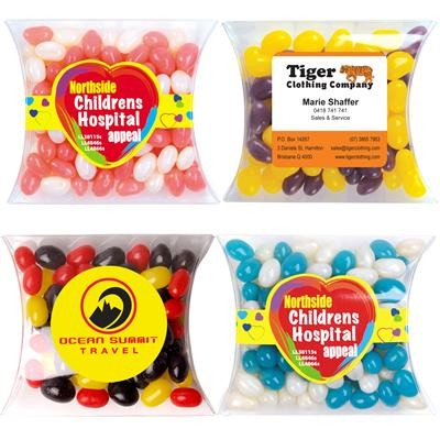 Logo Line Corporate Colour Mini Jelly Beans in Pillow Pack | LL4866
