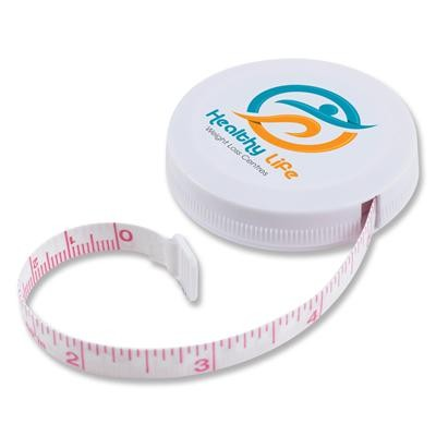 Logo Line White Styleline Tape Measure | LL496
