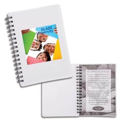 Logo Line Discovery Stone Paper Notebook | LL9000