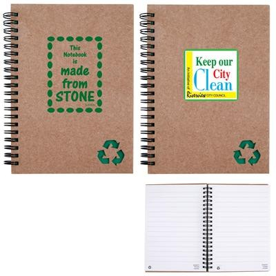 Logo Line Stone Paper Notebook | LL9753