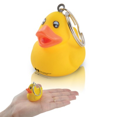 Small Yellow Duck Keyring