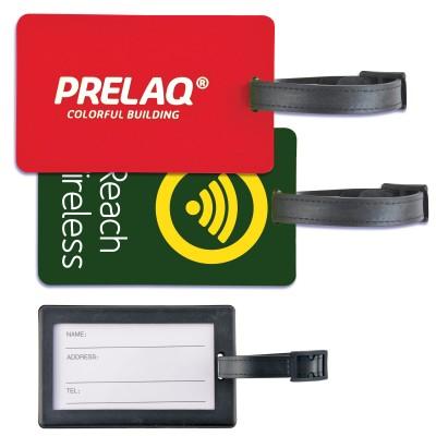 Rectangular PVC Luggage Tag